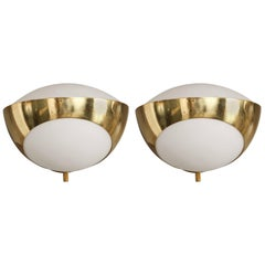 1960s Max Ingrand '1963' Sconces for Fontana Arte