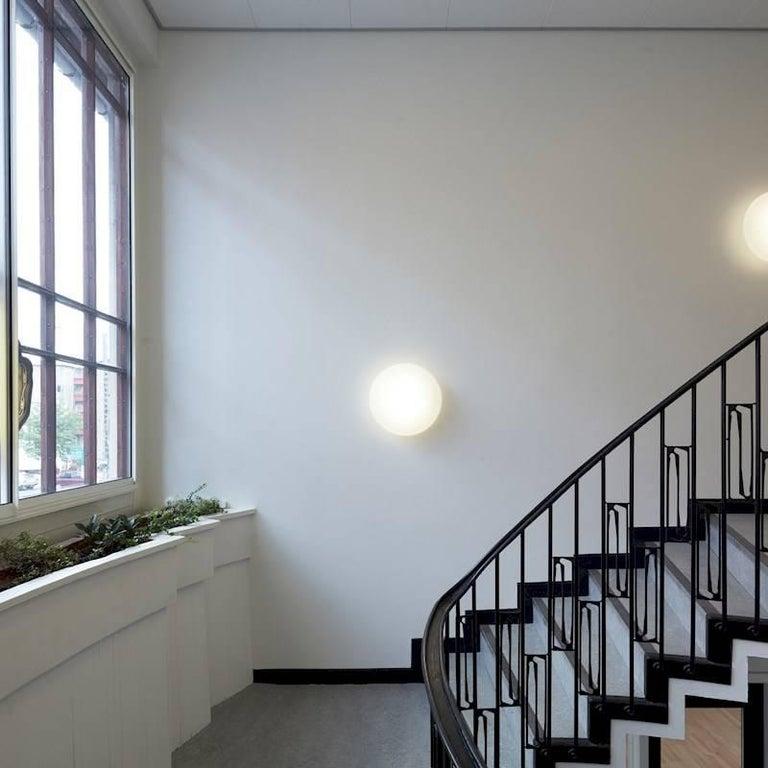 Danish Small Arne Jacobsen 'Eklipta' Wall or Ceiling Light for Louis Poulsen For Sale