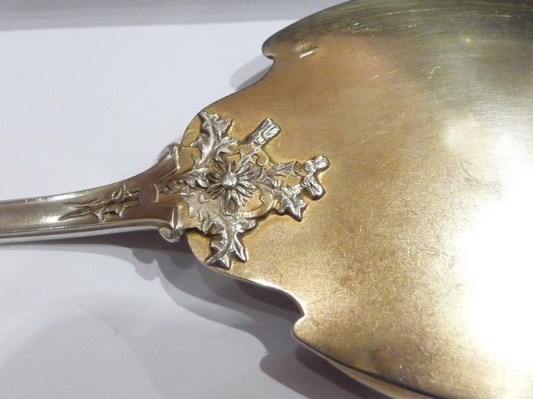 henin and cie an art nouveau silver gilt dessert set for sale at 1stdibs. Black Bedroom Furniture Sets. Home Design Ideas