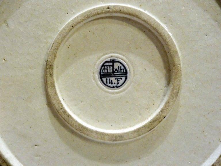Emile Diffloth, an Art Nouveau Covered Openwork Pot 8