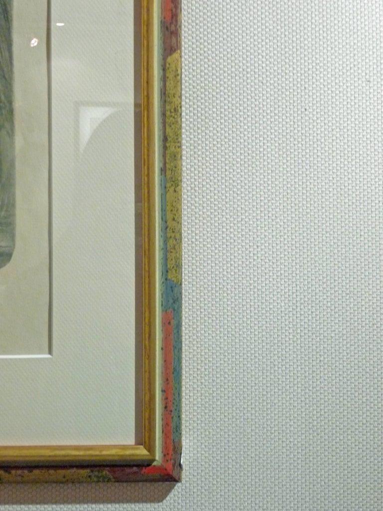"""Tony Martin, """"L'Eau"""", """"La Forêt"""", Two Art Nouveau Black and White Lithographs 6"""