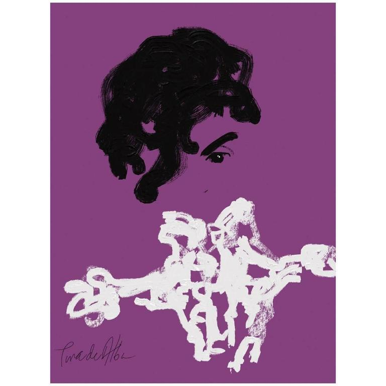 """""""Prince"""" by Arthur Pina de Alba, iPad Drawing on Archival Art Paper - #3 of 7"""