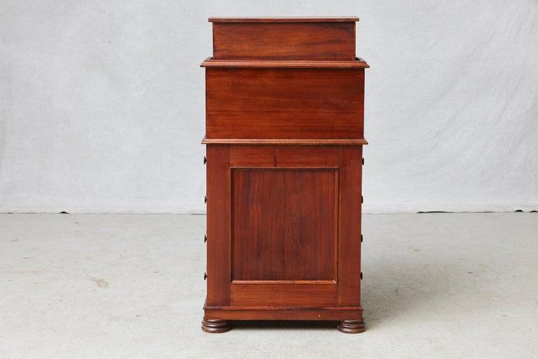 20th Century Walnut Piano Top Davenport Desk For Sale 5