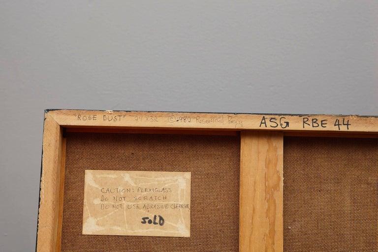 Rosamond Berg Rose Dust, 1980, Mixed-Media For Sale 1