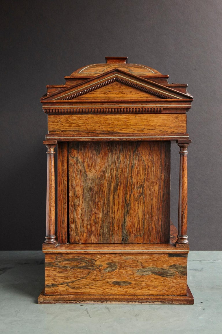 Regency Important William IV Rosewood & Mother of Pearl Inlaid Lady's Table Compendium For Sale