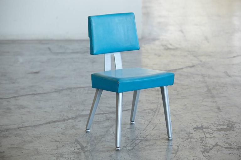 Industrial GF GoodForm Aluminum Task Chair, Special Edition For IBM 2