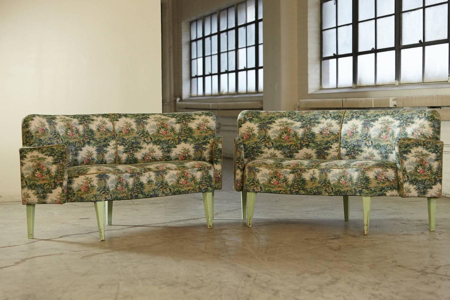 set of historical sofas from divan two in tivoli garden