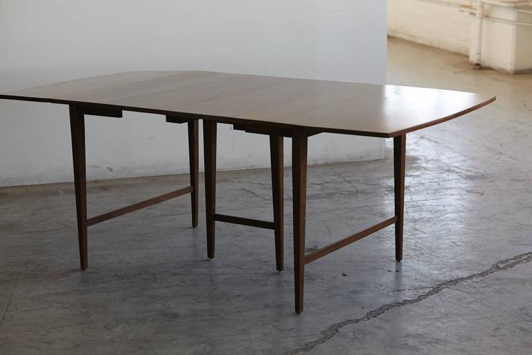 Extendable Drop-Leaf Maple Dining Table by Paul McCobb for Planner Group For Sale 4