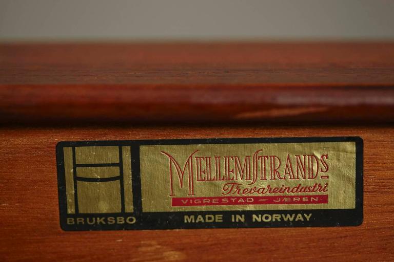 Minimalist Rosewood Bench 'Korbo' by Torbjørn Afdal for Mellemstrands / Bruksbo 2