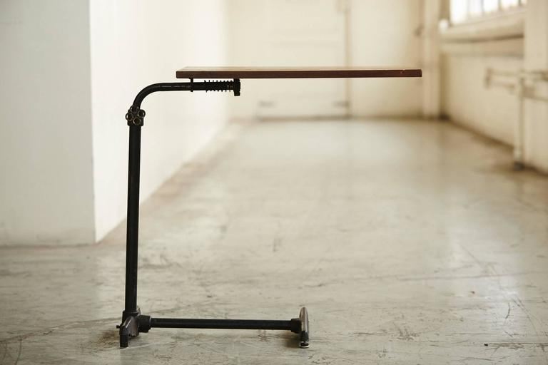 Industrial Early 20th Century Adjustable Height Drawing Table Stand For Sale