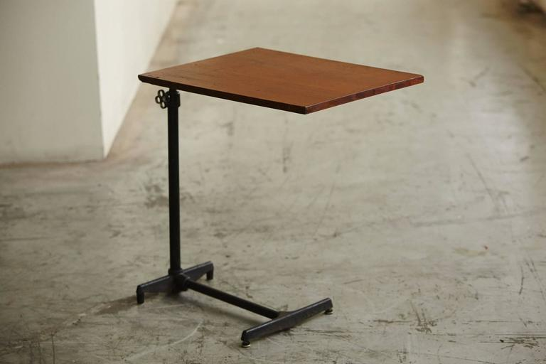 American Early 20th Century Adjustable Height Drawing Table Stand For Sale