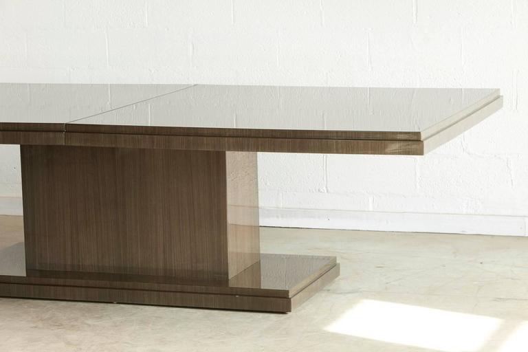 Custom Made Dining Table In Japanese Tay Koto Veneer With