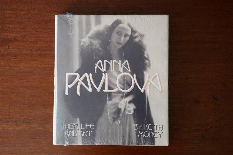 Anna Pavlova - Her Life And Art by Keith Money. The book comes from the estate of Alexander Dube. Publisher - Alfred A. Knopf, New York Date published - 1982 - First Edition Binding - Hardcover, dust jacket, new and unpacked, sealed.  425 pgs