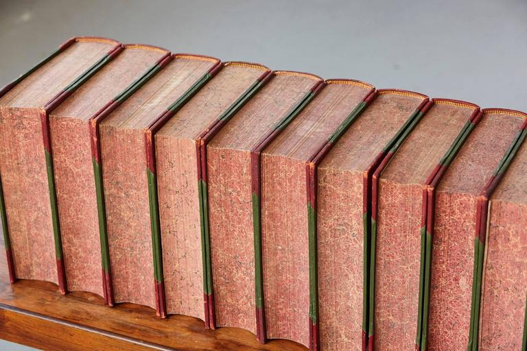 Set of 24 Leather Bound Volumes of Punch No 5-100 from the Estate of José Ferrer 6