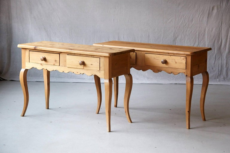English Country Style Pine Console 3