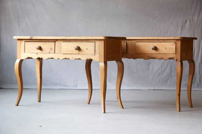 English Country Style Pine Console 4