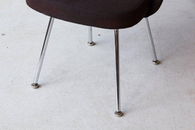 Black Eero Saarinen Series 71 Armless Chair for Knoll International For Sale 1