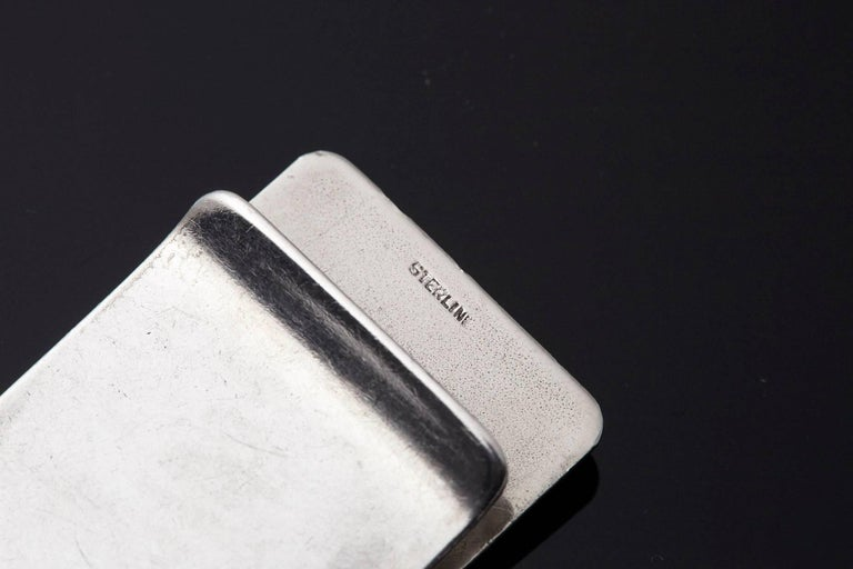 Sterling Money Clip, 25 Years IBM Electric Typewriter Division, 1933-1958 6