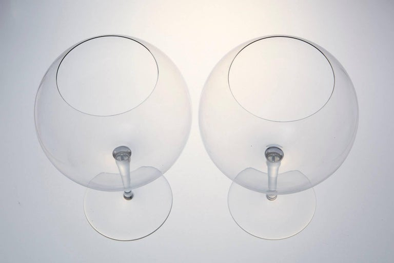 Pair of Baccarat Crystal 'Dégustation Romanée Conti' Tasting Wine Glasses For Sale 2