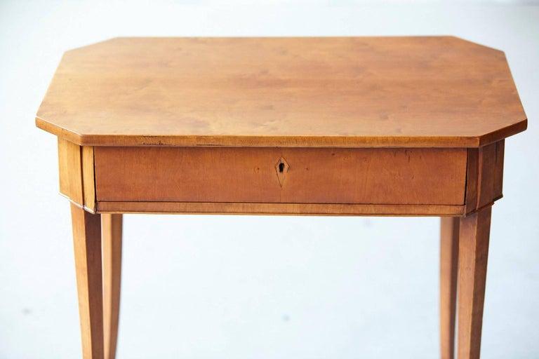 Pair of Biedermeier Side Tables For Sale 2