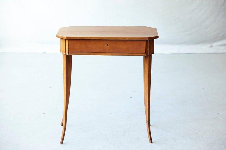 Pair of Biedermeier Side Tables For Sale 1