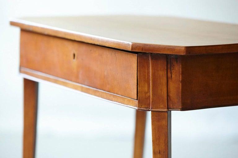 Pair of Biedermeier Side Tables For Sale 3
