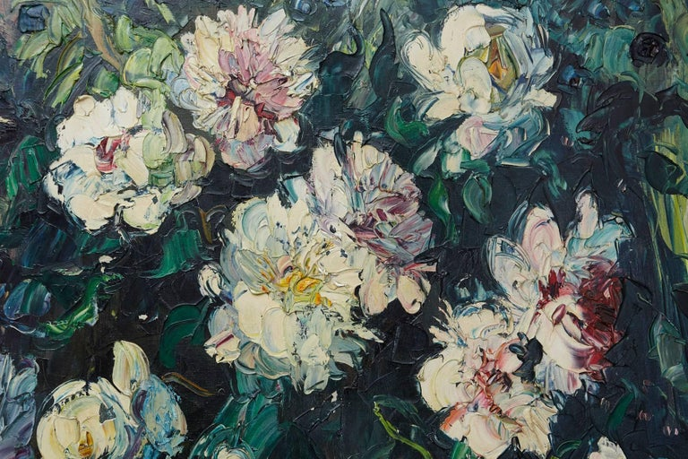 Mid-20th Century Emeric Vagh-Weinmann, Peonies, 1964 For Sale