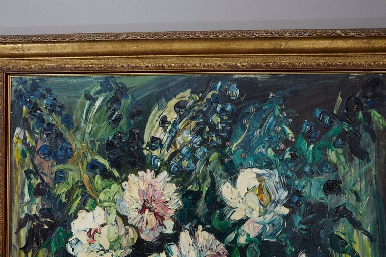 Emeric Vagh-Weinmann, Peonies, 1964 In Good Condition For Sale In Westport, CT