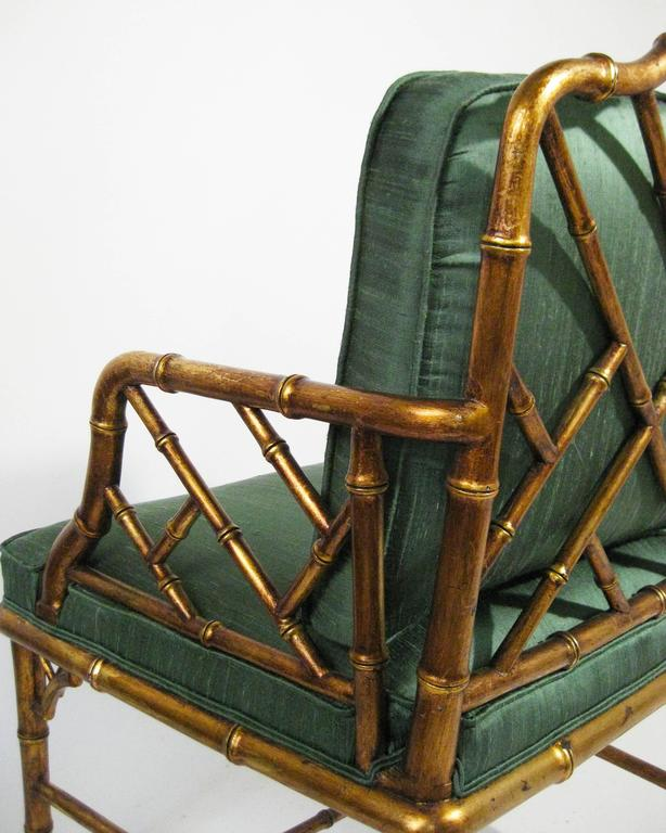Mid century faux bamboo armchairs attributed to arturo - Sillones de bambu ...