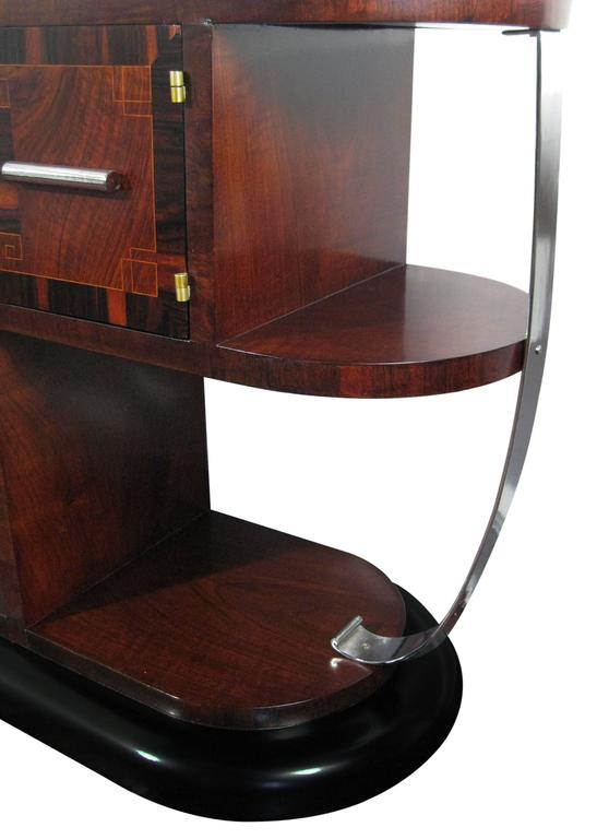 Streamline Art Deco Dressing Table France Circa 1930 For