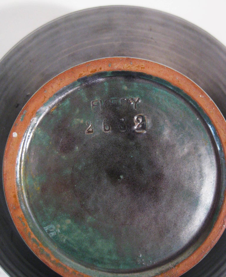 Vase Stoneware Attributed to Anna-Lisa Thomson Upsala-Ekeby, Sweden, circa 1940 7