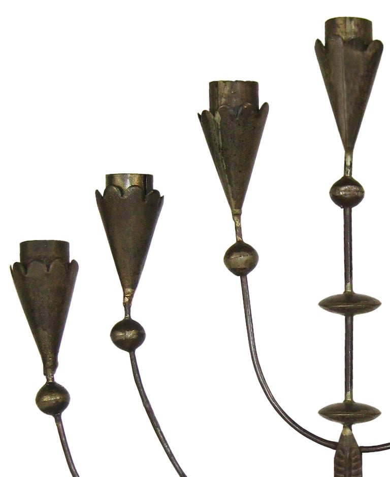 William Spratling, Tin Candelabra, Taxco, Mexico, circa 1935 2
