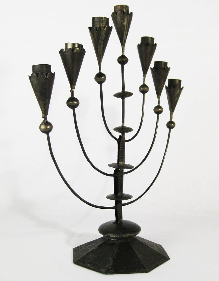 William Spratling, Tin Candelabra, Taxco, Mexico, circa 1935 4