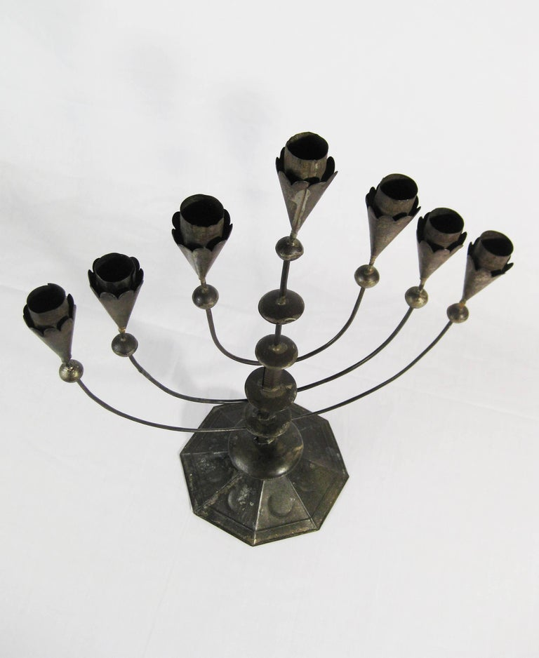 William Spratling, Tin Candelabra, Taxco, Mexico, circa 1935 7