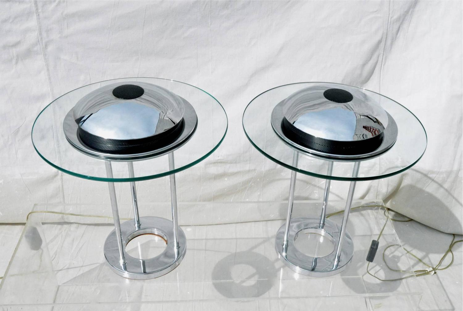 Chrome Lamps By Kovacs For Sale At 1stdibs