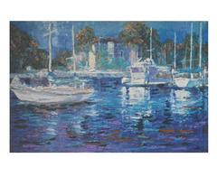 Painting of Picturesque Marina