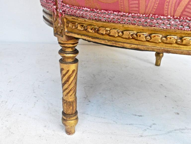 19th Century Giltwood Bergere For Sale 1