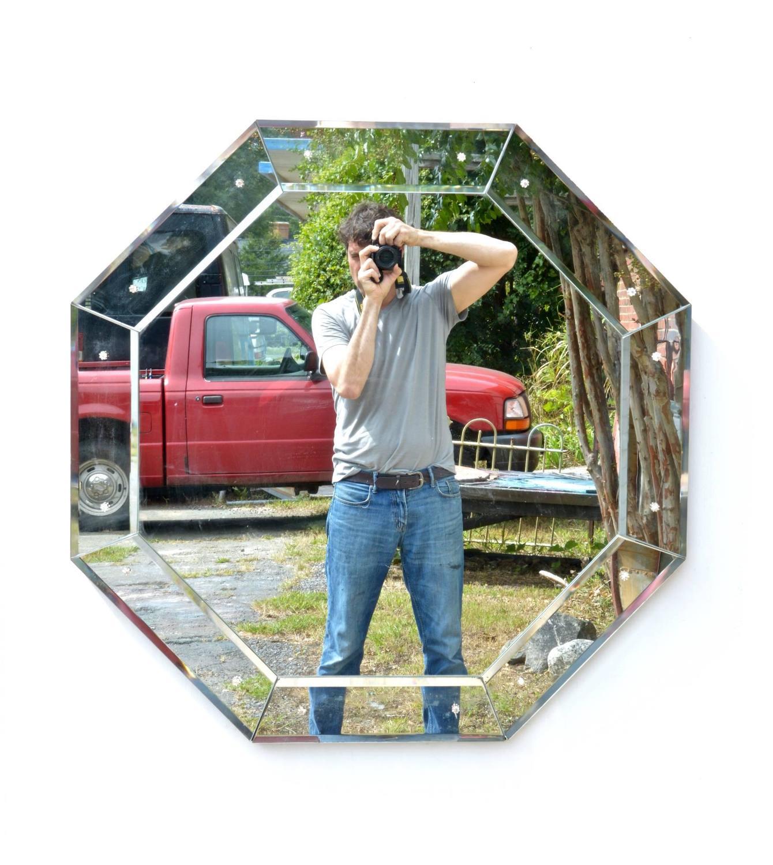 Grand Furniture Charlottesville Va: Glamorous Octagonal Mirror For Sale At 1stdibs