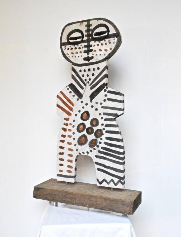 Folk Art Sculpture By Cher Shaffer At 1stdibs