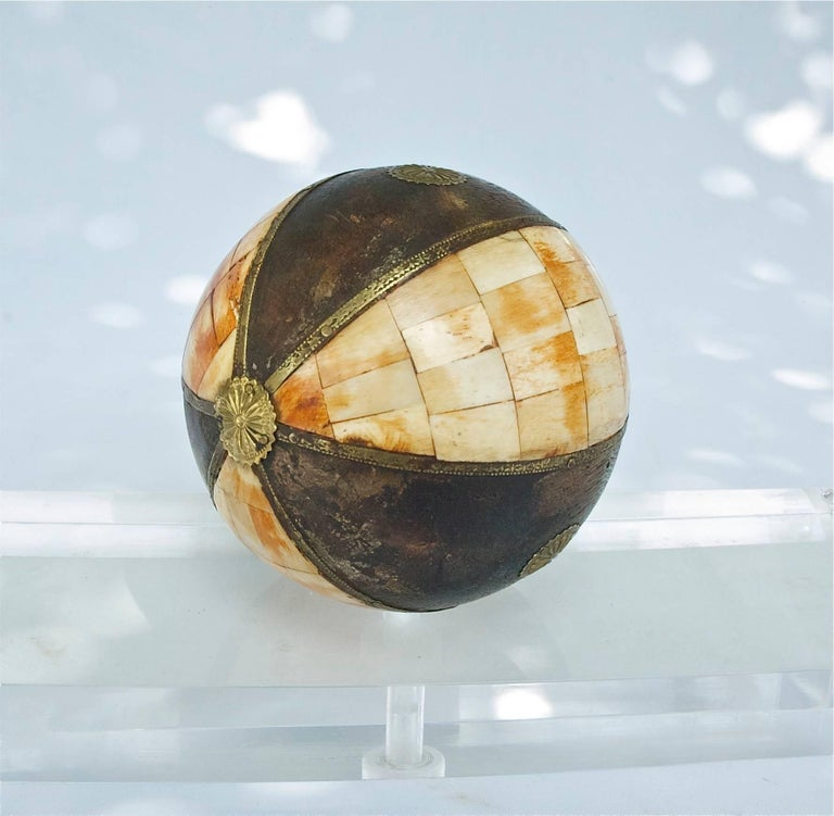 Collection Of Decorative Tessellated Spheres For Sale At