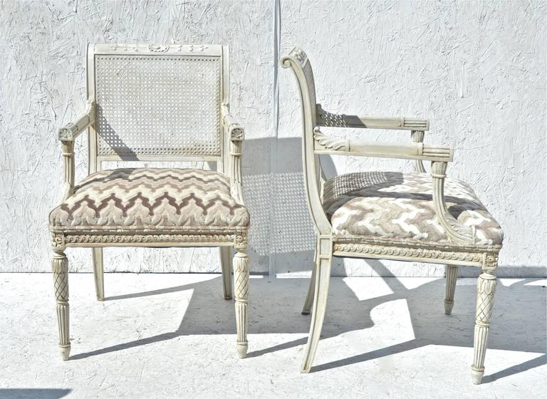 French Chairs In Greige 2