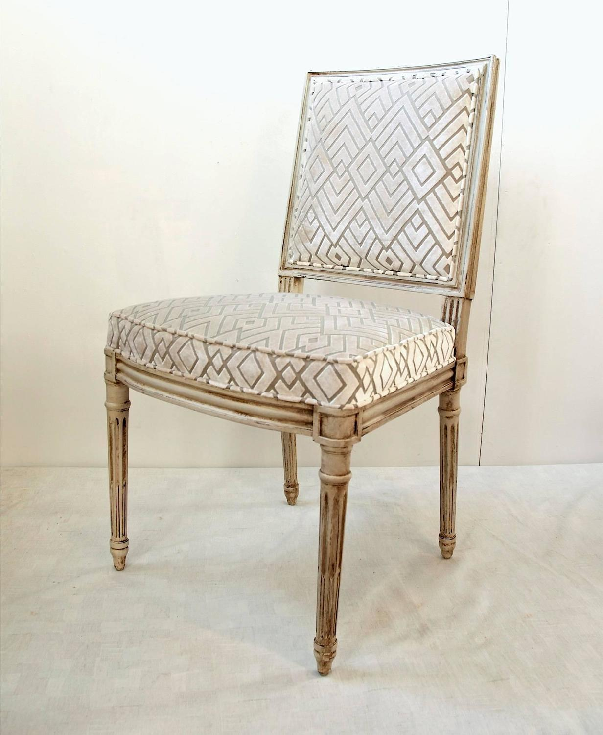 Set Of Louis XVI Dining Chairs At 1stdibs