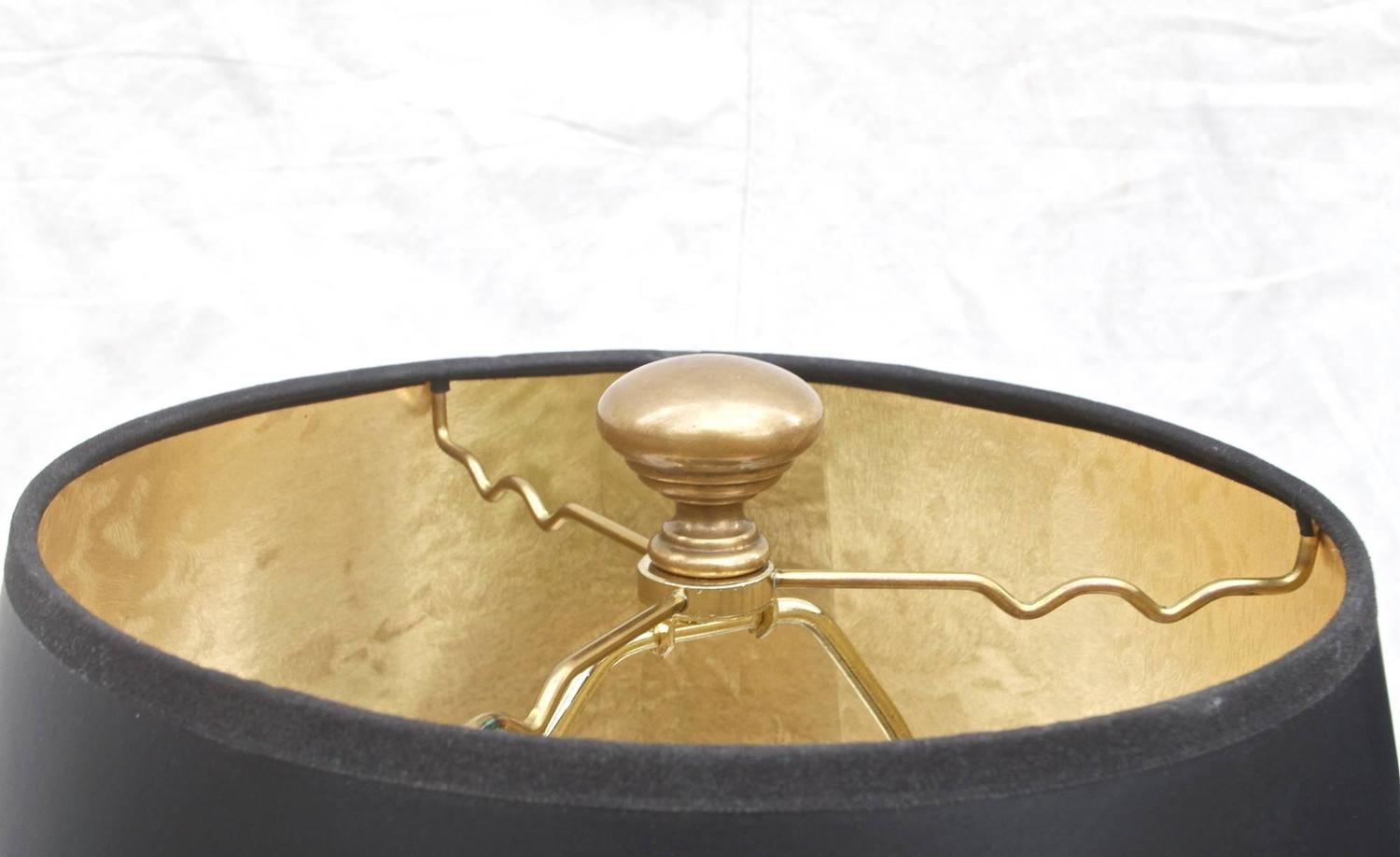Chapman Brass Lamps Of Kettle Form For Sale At 1stdibs