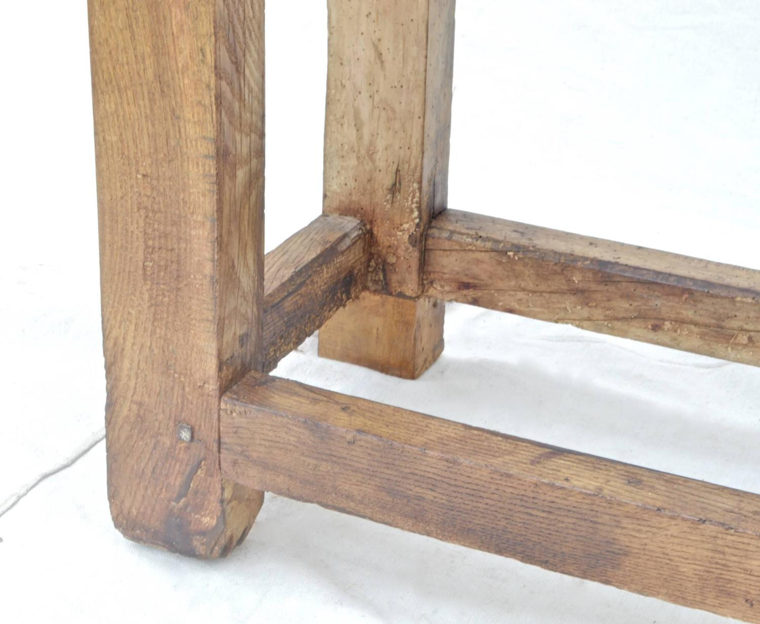 French Workbench Of Elm At 1stdibs