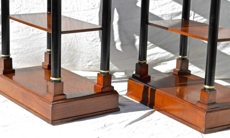 Neoclassical Etagere Pair 7