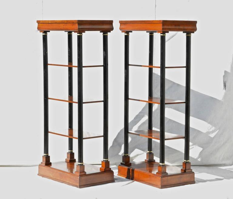 Neoclassical Etagere Pair 4