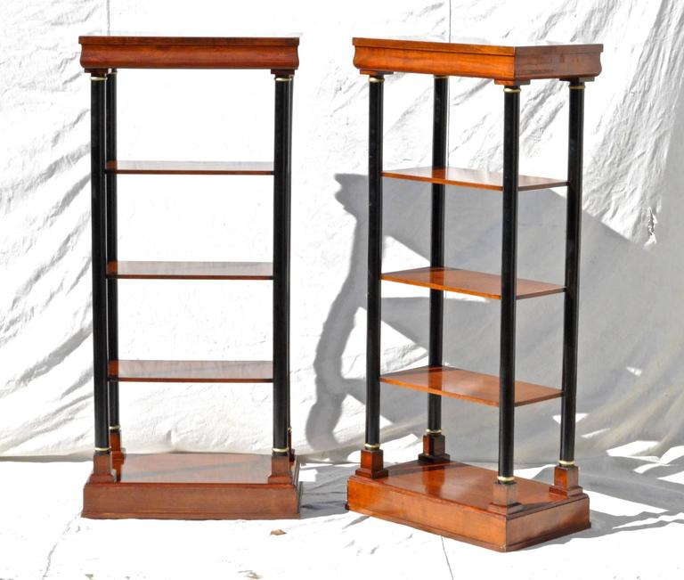 Neoclassical Etagere Pair 3