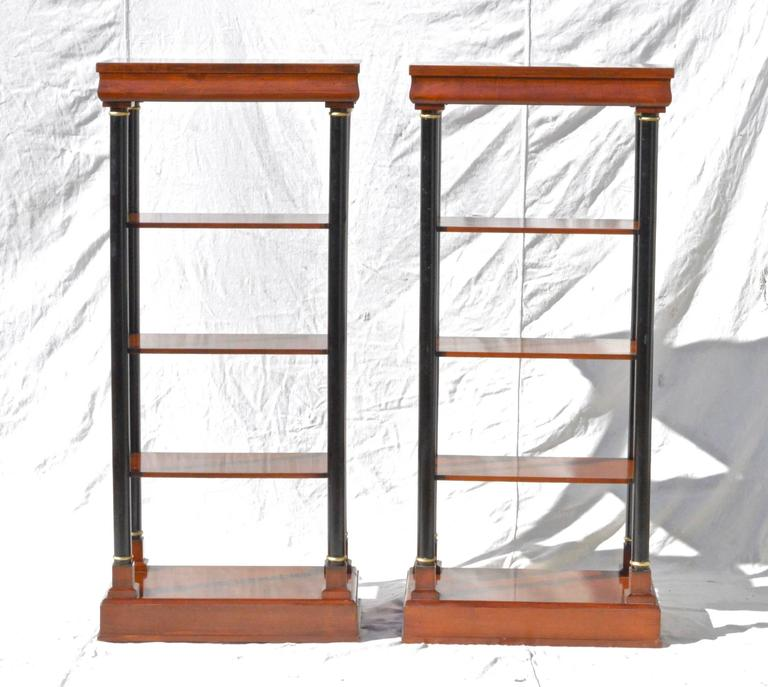 Neoclassical Etagere Pair 2