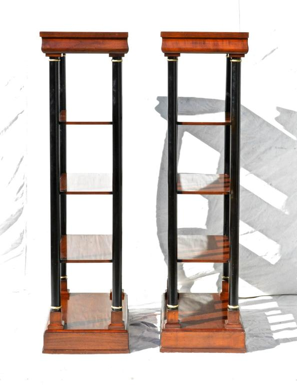 Neoclassical Etagere Pair 5