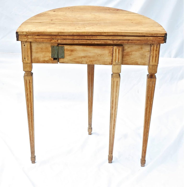 Rare louis xvi game table of fruitwood for sale at 1stdibs for 11 in 1 game table